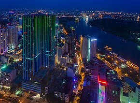 Vista de Ciudad Ho Chi Minh desde Bitexco Financial Tower, Vietnam, 2013-08-14, DD 10.JPG
