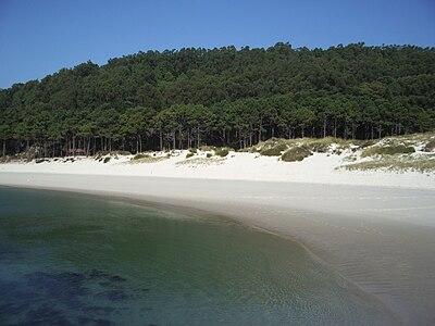 Vista parcial de orilla en la Praia das Rodas.jpg