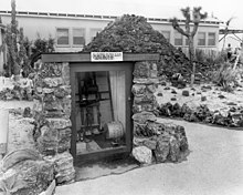History Of Knott S Berry Farm The Rock Volcano At With Aratus Shed
