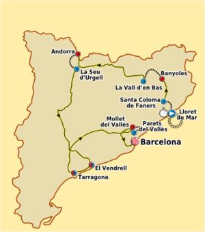 2011 Volta a Catalunya - Image: Volta Ciclista a Catalunya 2011