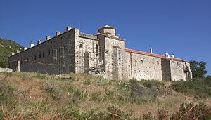 History of Samos - Vronda monastery