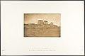 Vue des Pylones du Temple Khons et d'une partie du village de Karnac MET DP131868.jpg