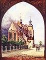 Włocławek-Cathedral in 1842.jpg