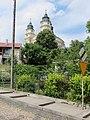 Włodawa, kościół św. Ludwika, widok od wsch..JPG
