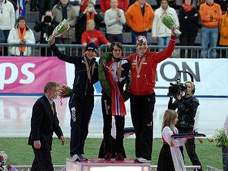 2009 World Allround Speed Skating Championships - Image: W Ch podium women 2009