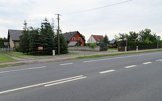 Witobel Village in Greater Poland, Poland