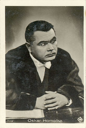 Oskar Homolka - Homolka, 1932