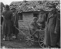 """WWII, Europw, Germany, """"German POWs - Desolate wounded Nazi captured near Korrenzig by U.S. Ninth Army Sector"""" - NARA - 195470.tif"""