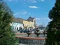 W Bobolicach przy fontannie - panoramio.jpg