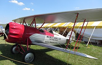 John H. Livingston - WACO 10 Taperwing ASO flown by Livingston in 1928 Air Derby