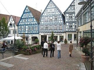 Waiblingen Place in Baden-Württemberg, Germany