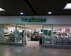 The Waitrose store in Peterborough, Cambridges...
