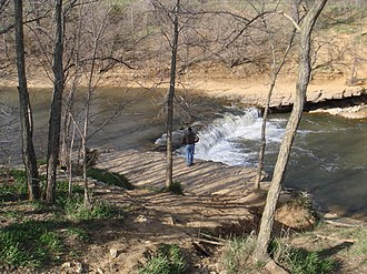 Wakarusa River - Falls of the Wakarusa River