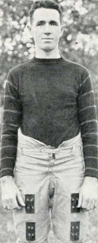 Duke Blue Devils football - Wade at Vanderbilt, c. 1921
