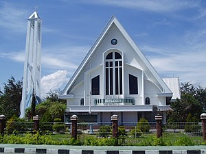 Protestantism in Indonesia - Betlehem church in Wamena, Papua
