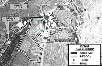 Battle of Wanat - Proposal for COP at Wanat