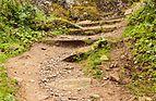 Wandeltocht rond Lago di Pian Palù (1800 m). in het Nationaal park Stelvio (Italië). Bergpad naar Lago di Pian Palù. 03.jpg