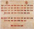 Wapenkaart uit huis van Ridderschap van Utrecht met edelen en hun ridderhofsteden ca 1674.jpg