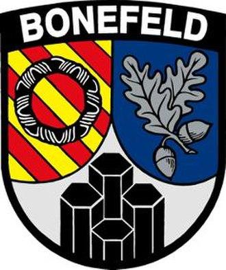 Bonefeld - Image: Wappen Bonefeld