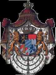 Wappen Deutsches Reich - Königreich Bayern (Grosses)