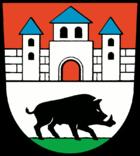 Das Wappen von Golßen