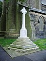 War Memorial, All Saints with St John the Baptist Church, Burnley - geograph.org.uk - 994208.jpg