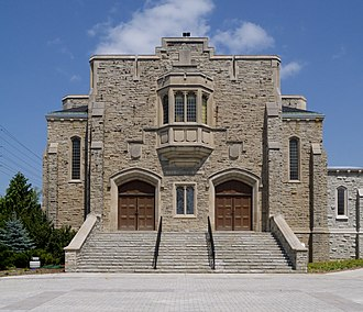 University of Guelph - War Memorial Hall, built in 1924