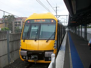 Waratah A4 At Lidcombe