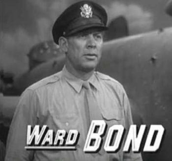 Cropped screenshot of Ward Bond from the trail...