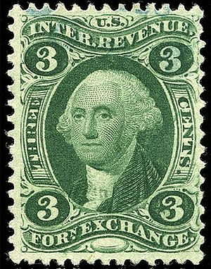 Revenue stamps of the United States - Foreign Exchange, 1862 issue