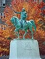 Washington Statue Fall Leaves.jpg