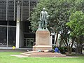Washington Statue at the Main Library, New Orleans CBD, June 2017.jpg