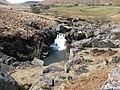 Waterfall on Afon Claerwen - geograph.org.uk - 664400.jpg