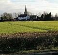 Waterloo Inn and St Mary's Church, Nash - geograph.org.uk - 1779365.jpg
