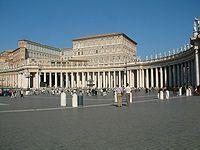 Watykan Plac sw Piora kolumnada Berniniego.JPG