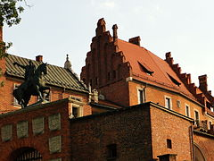 Wawel Coat of Arms Gate, Museum of the Wawel Cathedral, 2015.JPG