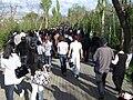 Way to tsitsernakaberd in hamalir park.JPG