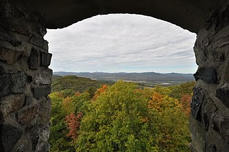 Weeks Estate - Image: Weeks State Park Tower View 1