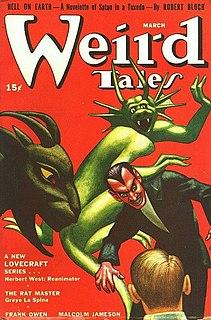 <i>Weird Tales</i> US pulp fantasy magazine