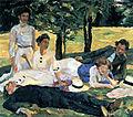 Weisgerber, Albert - Piknik za letniho odpoledne (1910).jpg