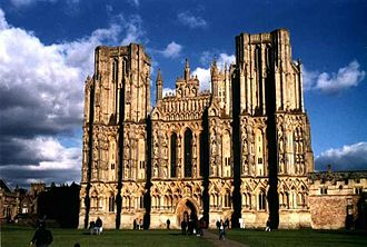 Jocelin of Wells - West front of Wells Cathedral, which was constructed under Jocelin.