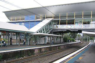 West Ryde railway station railway station in Sydney, New South Wales, Australia