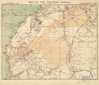 Greater Morocco - Western Sahara 1876