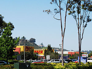 Mission Valley, San Diego - Westfield Mission Valley, one of several large regional shopping centers in Mission Valley