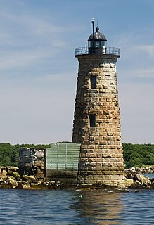 Whaleback Light lighthouse in Maine, United States