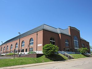 Atlanta Hawks - Wharton Field House in Moline, Illinois