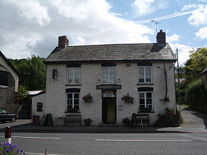 Wheelwright Arms, Erwood, Wales.