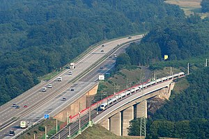 Köln–Frankfurt high-speed rail line - Wied viaduct