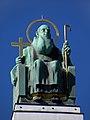Wien - Hl Severin auf der Otto-Wagner-Kirche am Steinhof.jpg