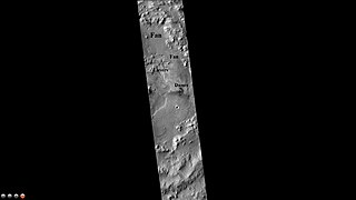 Jones (Martian crater) crater on Mars